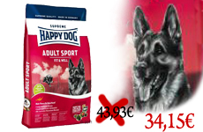 Happy dog Sport Fit & Well