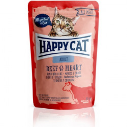 Happy Cat All Meat Adult hovädzí a srdce 85 g
