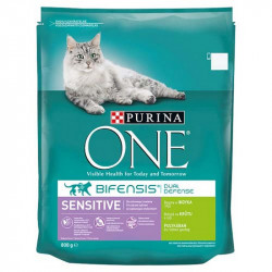Purina ONE Sensitive morka a ryža 800g