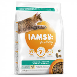 IAMS Cat Adult Sterilised Chicken 1,5kg