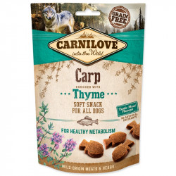 Carnilove Dog Semi Moist Snack Carp enriched with Thyme 200 g