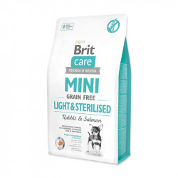 Brit Care Mini Light Sterilised grain free 2 kg