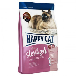 Happy Cat Sterilised Voralpen Rind Hovädzie 1,4 kg