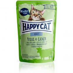 Happy Cat All Meat Adult teľa a jahňa 85 g