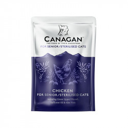 Canagan Pouch Chicken for senior/sterilised cat 85g