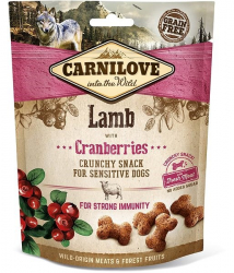 Carnilove Dog Crunchy Snack Lamb with Cranberries with fresh meat 200 g