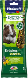 Vitakraft Emotion Kräcker Herbal pre morčatá - 112g
