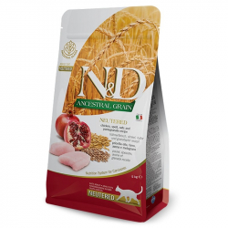 Farmina N&D LG ANCESTRAL adult neutered chicken and pomegranate 5 kg