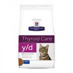Hill's Diet y/d Thyroid Care Original granule pre mačky 1,5 kg