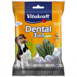 Vitakraft Dental Sticks 3in1 FRESH S 120g