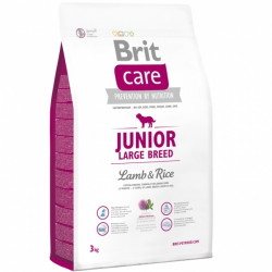 Brit Care Junior Large Breed Lamb & Rice - 3 kg