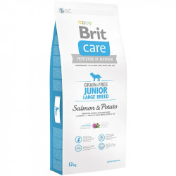 Brit Care Junior Large Breed Salmon & Potato - 12 kg