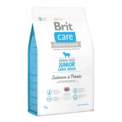 Brit Care Junior Large Breed Salmon & Potato - 3 kg