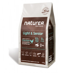 Naturea Light & Senior - 2 kg