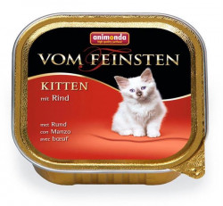 Animonda Vom Feinsten cat Kitten hovädzie 100 g