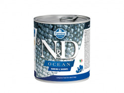 Farmina N&D dog OCEAN Herring & Shrimps konzerva 285 g