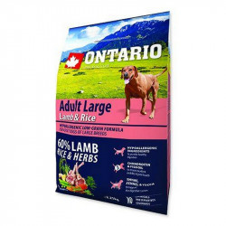 ONTARIO Dog Adult Large Lamb & Rice & Turkey 2,25 kg