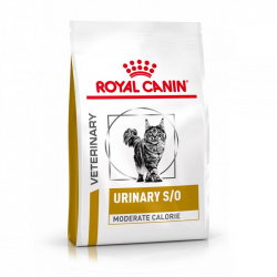 Royal Canin VHN urinary SO moderate calories granule pre mačky 1,5 kg