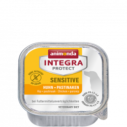 Animonda INTEGRA® Protect dog Sensitive - Kuracie + paštrnák 150 g
