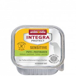 Animonda INTEGRA® Protect dog Sensitive morčacie s paštrnákom 150 g