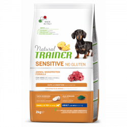 Trainer natural sensitive adult mini jahňa 2kg