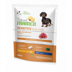 Trainer natural sensitive adult mini jahňa 800g
