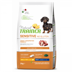 Trainer natural sensitive adult mini kačka 2kg