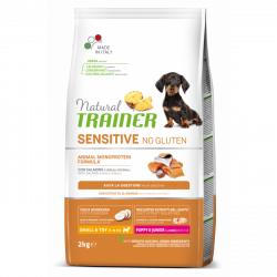 Trainer natural sensitive puppy mini losos 2kg