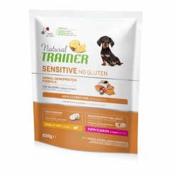 Trainer natural sensitive puppy mini losos 800g
