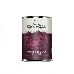 Canagan Turkey & Duck Dinner - 400g