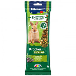 Vitakraft Emotion Kräcker Herbal pre králiky - 112g