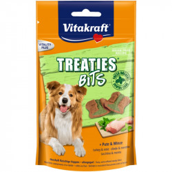 Vitakraft Treaties Bits morka + mäta - 120g