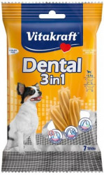 Vitakraft Dental Sticks 3in1 pre malé psy do 5 kg - 70g