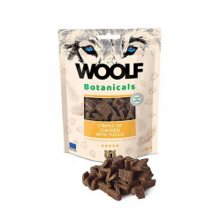 Woolf Botanicals Chicken stripes with yucca pre psov 80 g