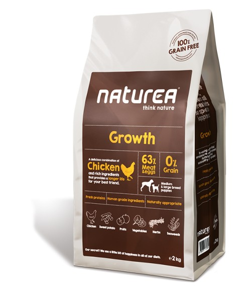 Naturea Growth - 12 kg